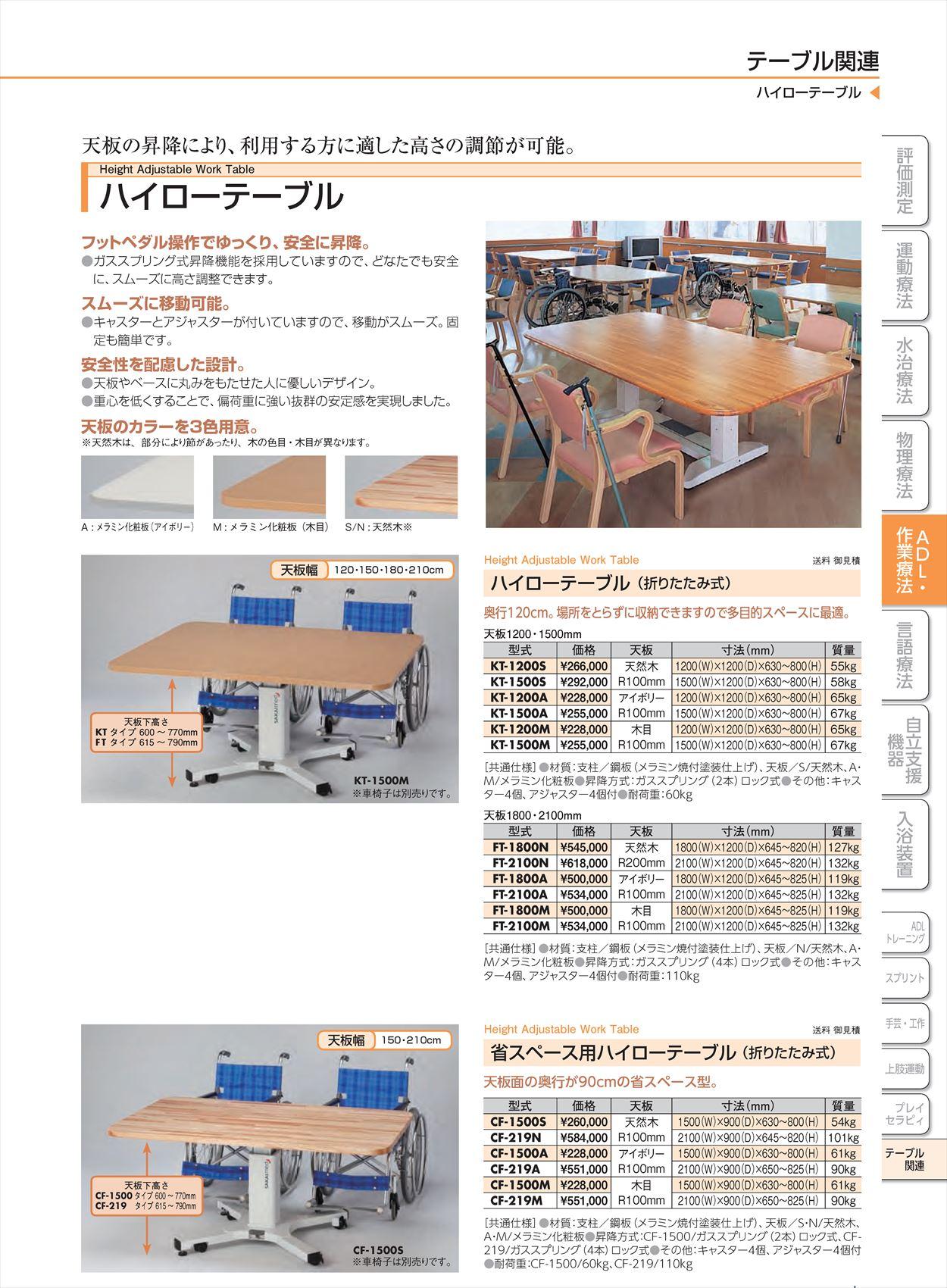 ハイローテーブルKT-1200M[台](sa14Q31643)【酒井医療】